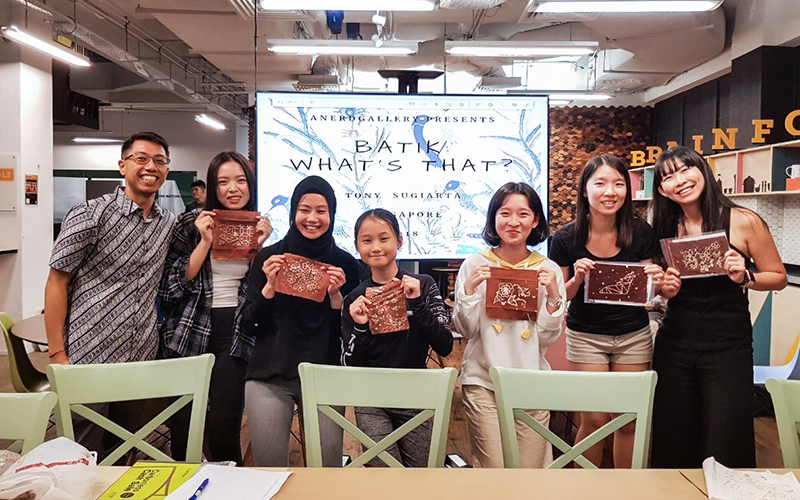 Batik Printing Event at lyf@SMU