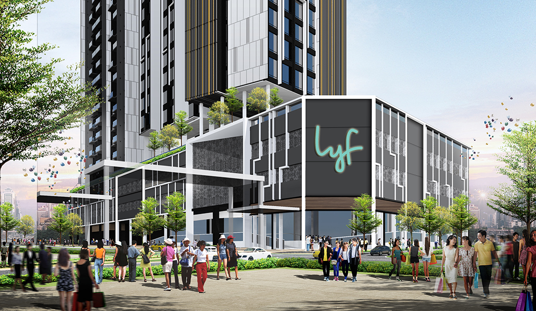 Exterior view of lyf Farrer Park Singapore